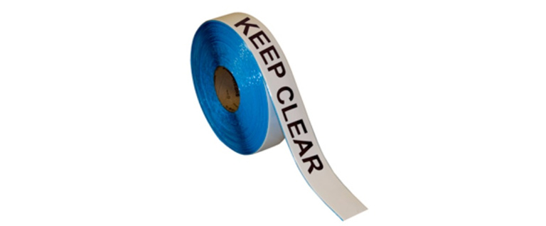 Superior Mark™ repeating message floor tapes