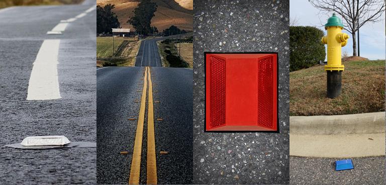 Road Reflector Colors