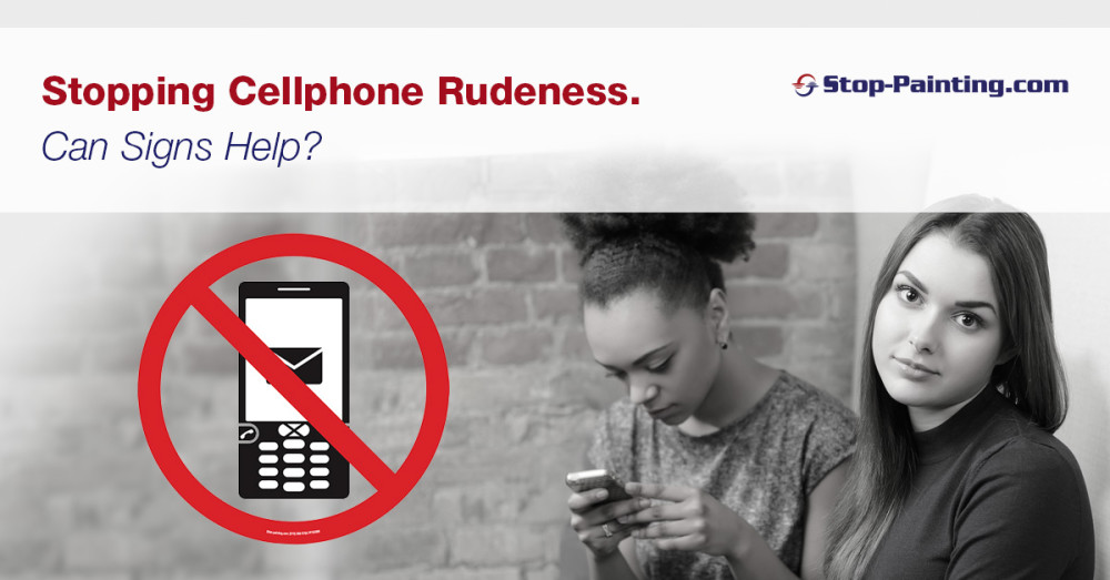 Stopping Cellphone Rudeness. Can Signs Help?