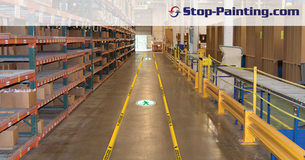 The Importance Of Floor Markings In Pathways And Aisles