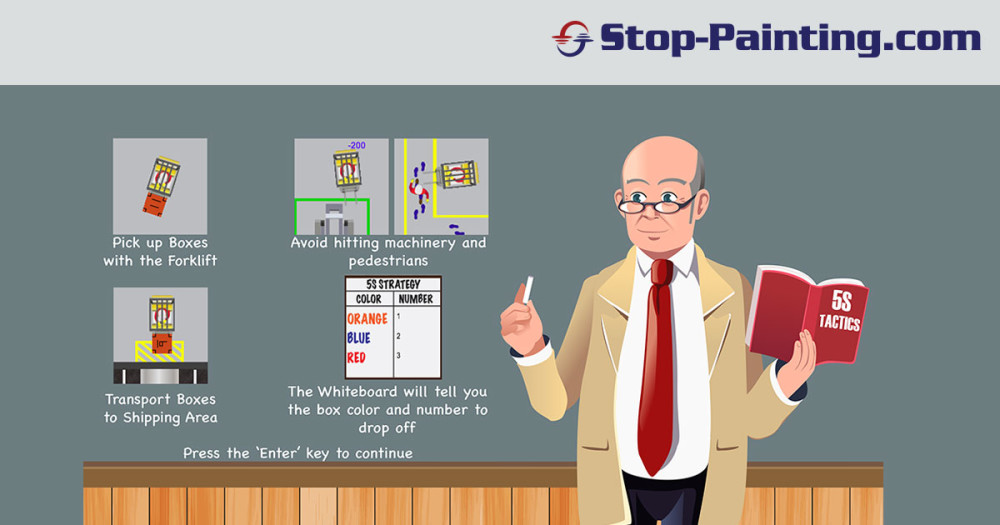 Learn The Basics of 5S With Our Interactive Online Game