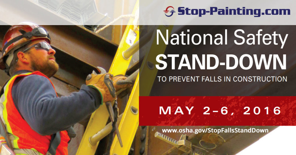 National Safety Stand Down Week Promotes Safety Awareness