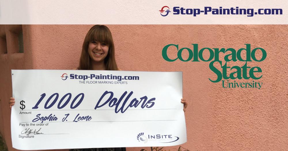 Scholarship Winner Announced: Sophia Leone