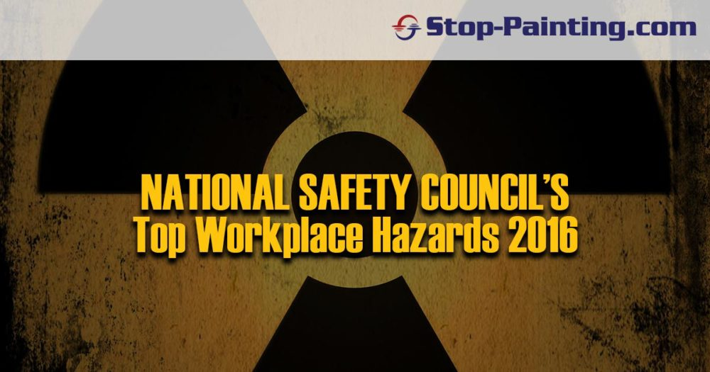 National Safety Council: Top Workplace Hazards