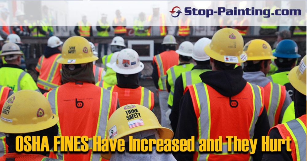 OSHA Fine Increases Are Being Felt!