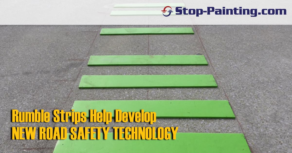 Rumble Strips Help New Road Safety Technology