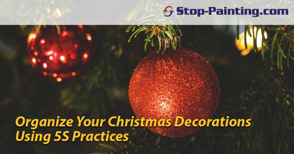 5S Implementation for Organizing Holiday Decorations