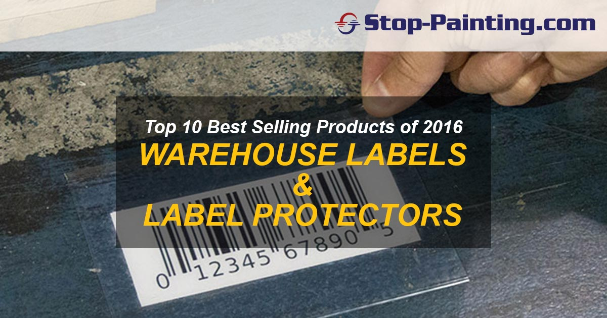Top 10 Best Sellers of 2016 – #10: Warehouse Labels & Label Protectors