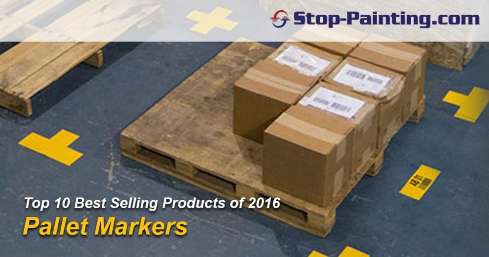 Top 10 Best Sellers of 2016: #3 – Pallet Markers