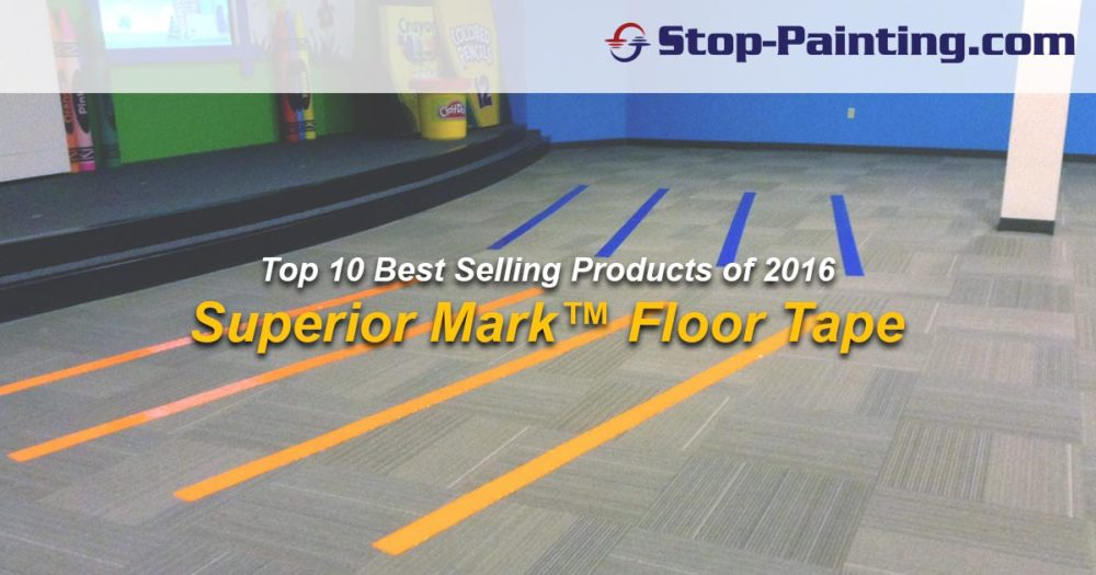 Top 10 Best Sellers of 2016: #4 – Superior Mark™ Carpet Tape