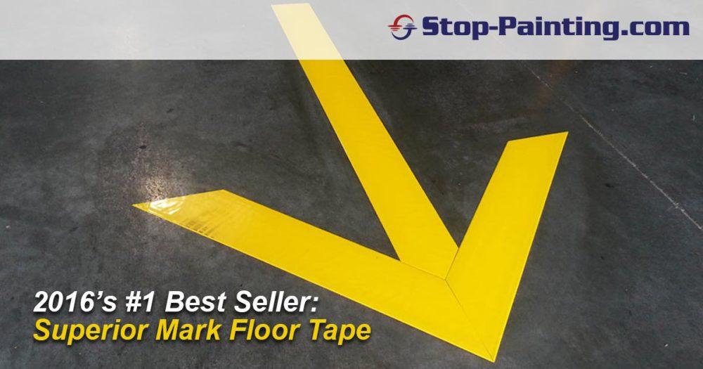 Top-Ten Best Sellers 2016: #1 – Superior Mark™ Industrial Floor Tape