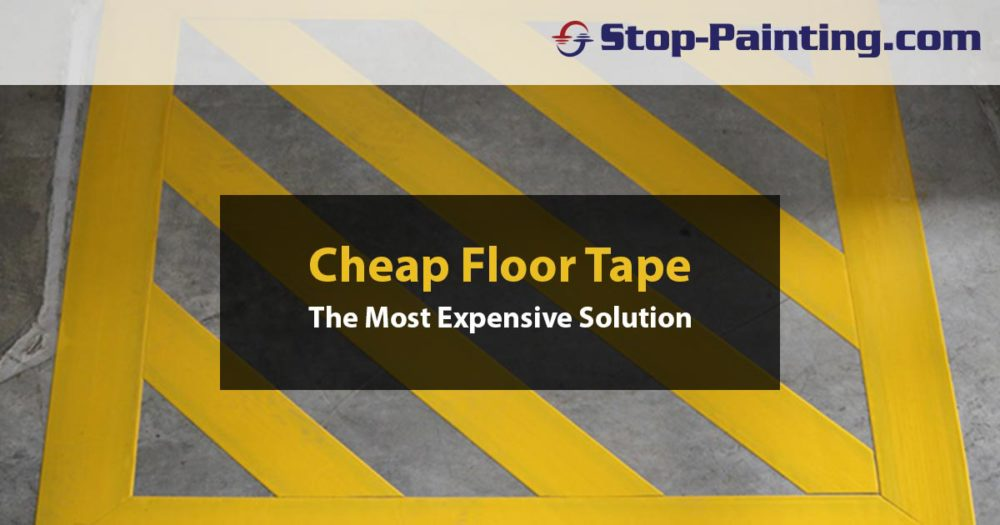 Cheap Floor Tape Usually Becomes the Most Expensive Choice