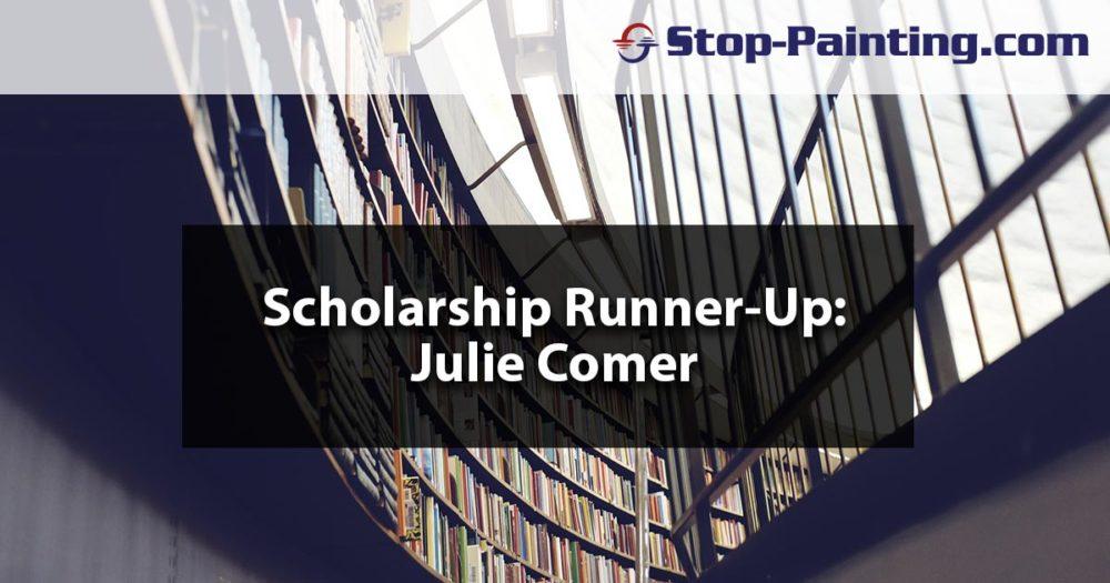 Scholarship Runner-up Essay: Julie Comer