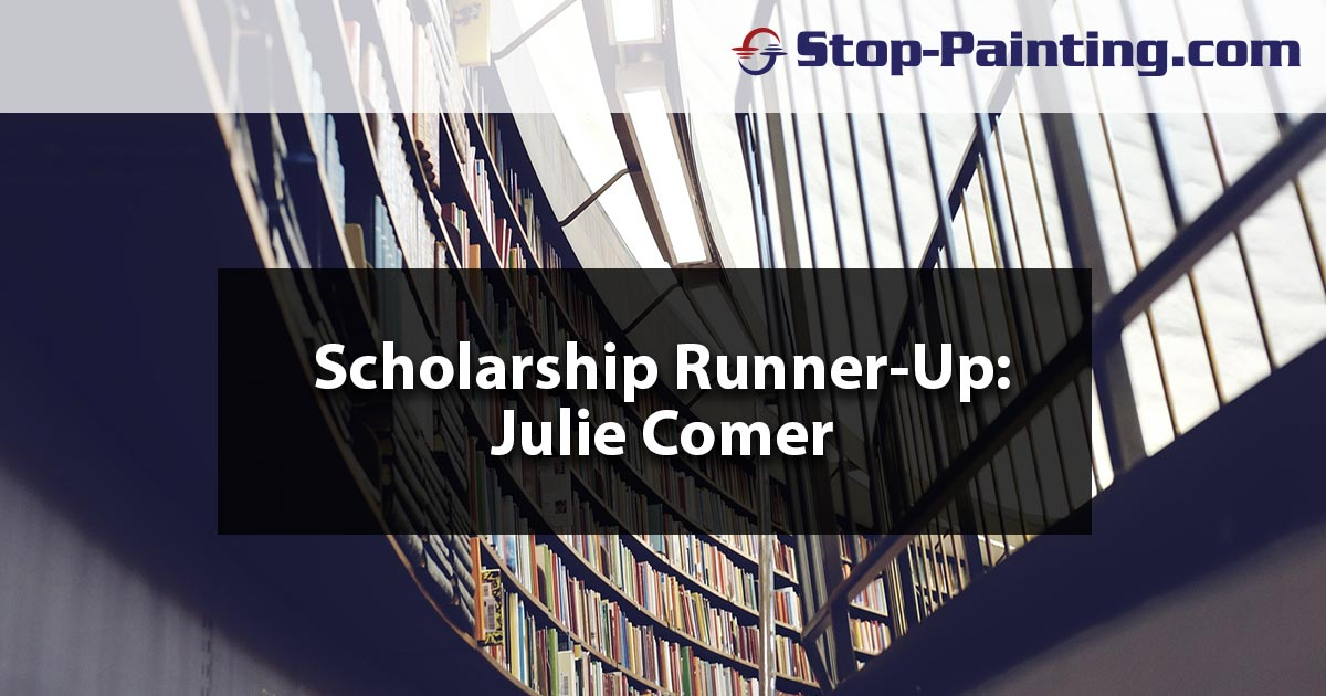 Scholarship Runner-up Essay: Julie Comer