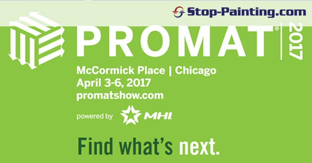 Come See Stop-Painting at the ProMat Show – Booth S4820