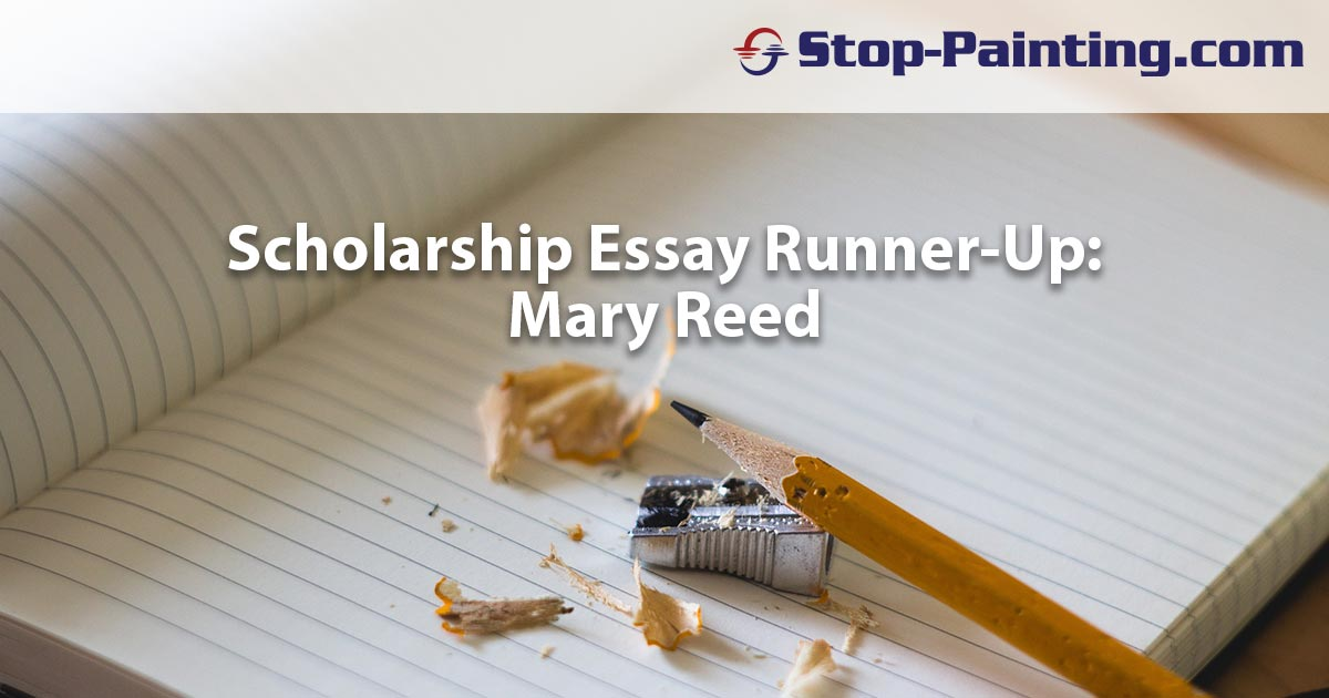 Runner-up Scholarship Essay Submission: Mary Reed