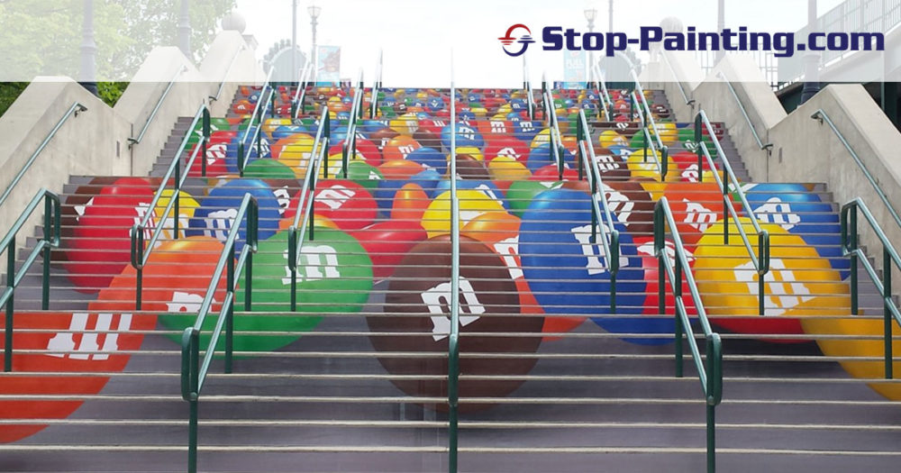 Superior Mark Tape makes its mark in Stair Graphic Advertising