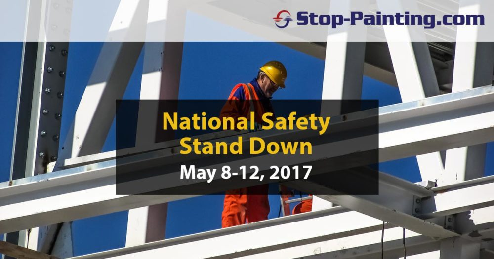National Safety Stand-Down set for May 8-12