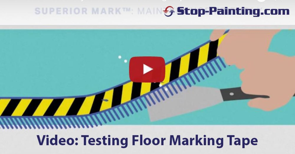 Video: How to Effectively Test Floor Marking Tape