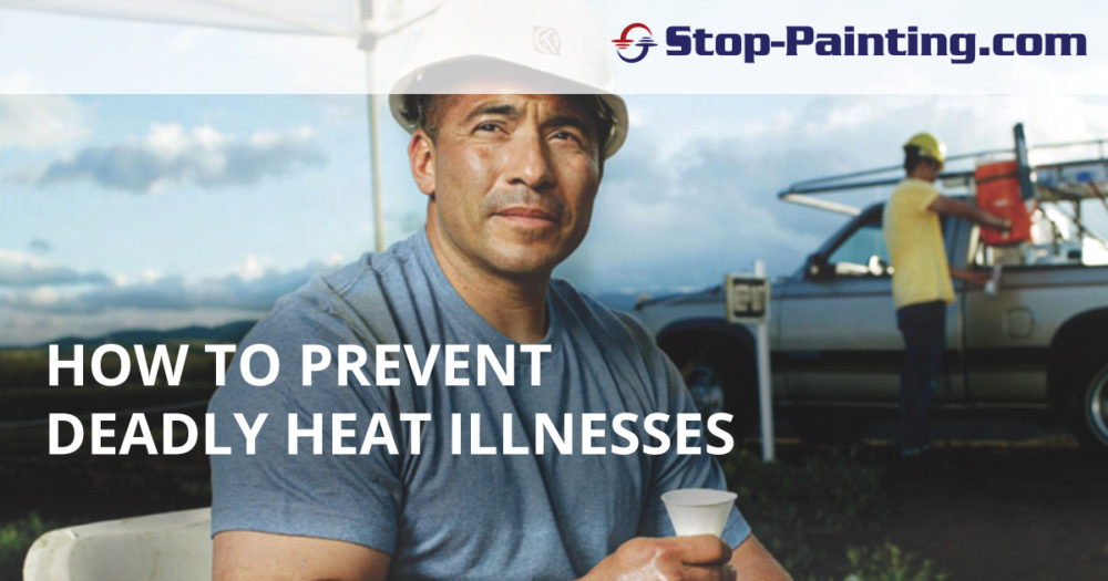 How To Prevent and Treat Heat Illnesses On Outdoor Work Sites
