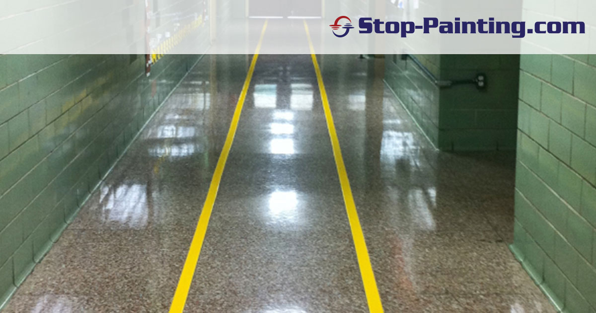Get in Line: Superior Mark™ Floor Tape and Carpet Tape in Schools