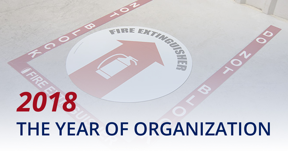 Get Organized: Fire Safety Visual Cues