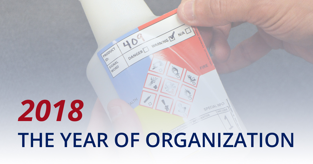 Get Organized: GHS Labels