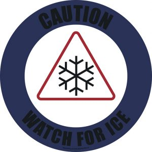 Icy Conditions Sign