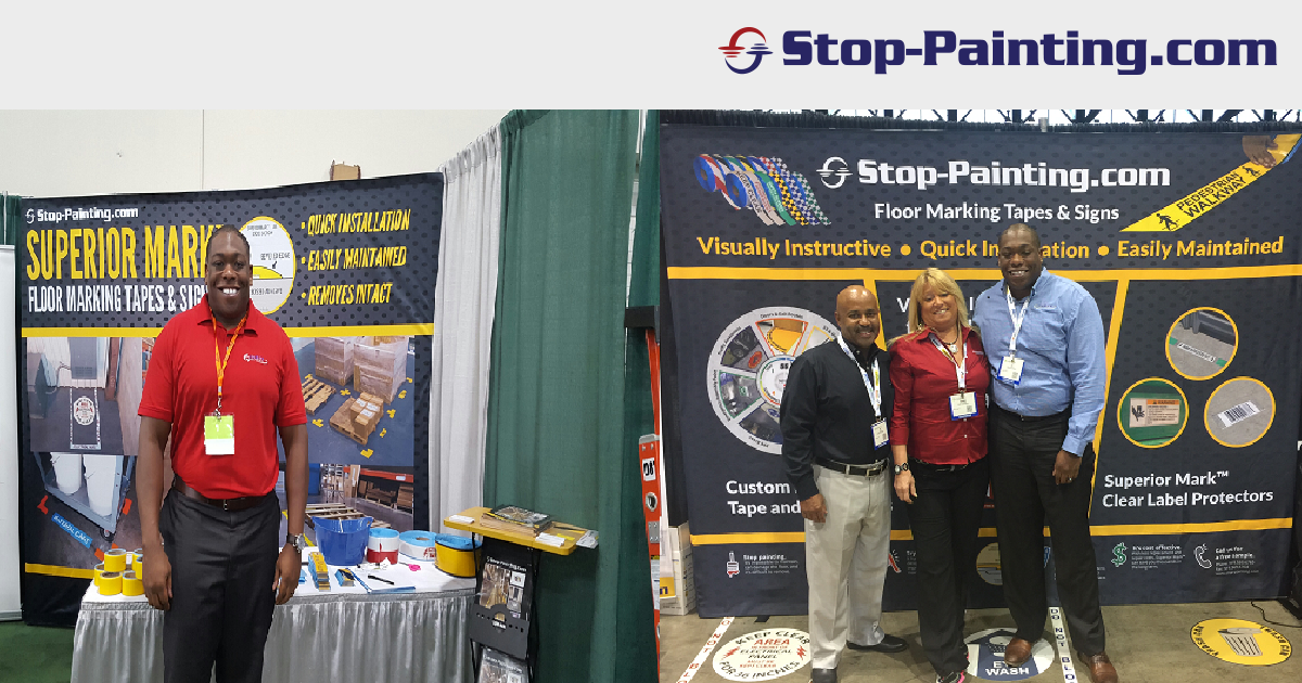 Come Meet Us In Person! Stop-Painting Hits the Road with a Fall Tradeshow Tour