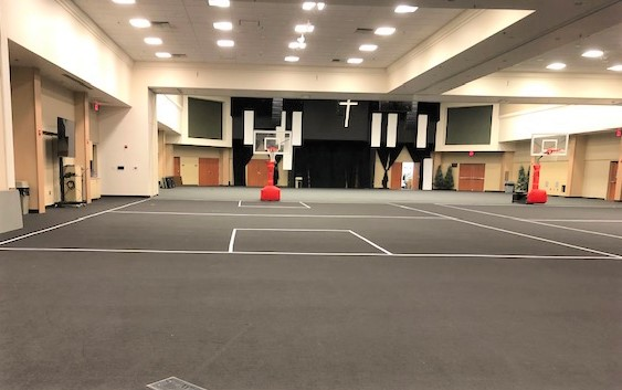 Carpet Tape is Coach-Approved for Indoor Courts