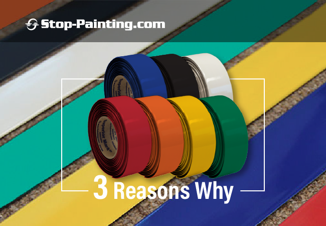 Top Three Reasons to Use Superior Mark® Carpet Tape