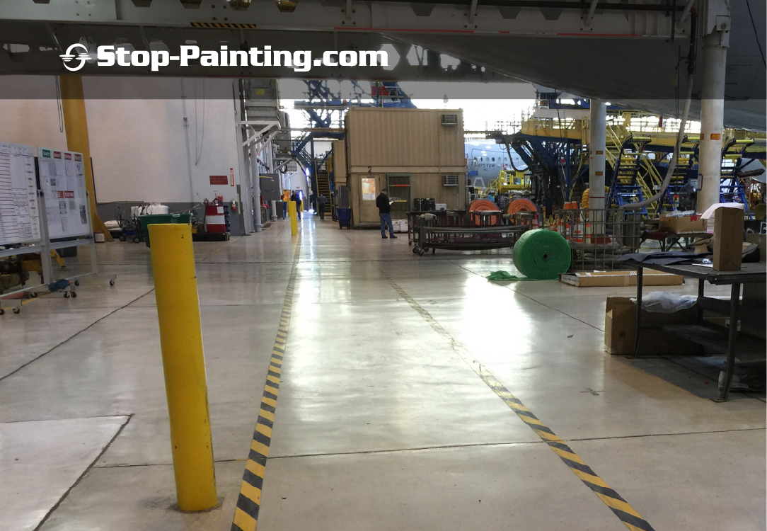 Why Mark Safety Lanes on a Workshop or Facility Floor?