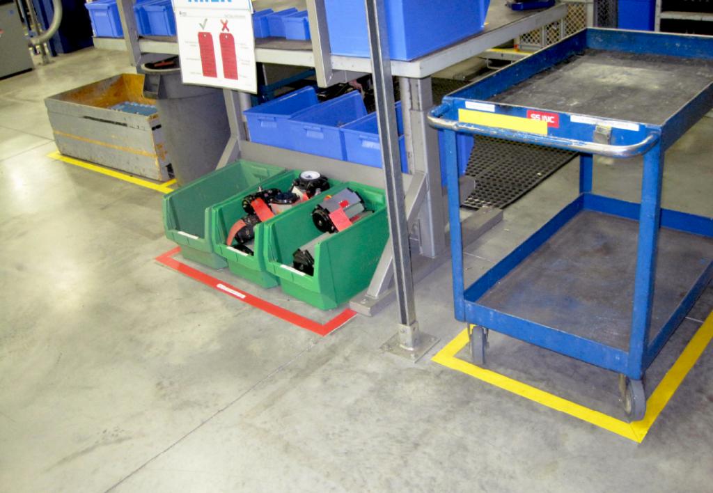 floor marking tape for organization