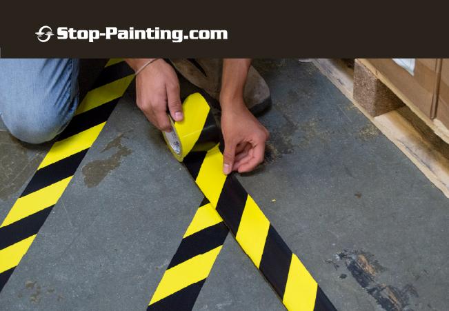 Industrial Floor Marking Tape for Flexible Floor Plans