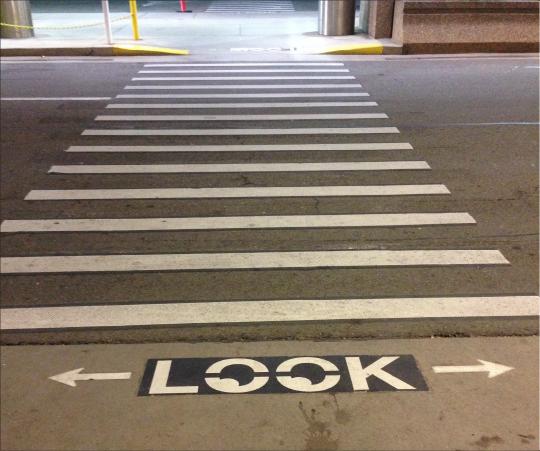 outdoor crosswalk