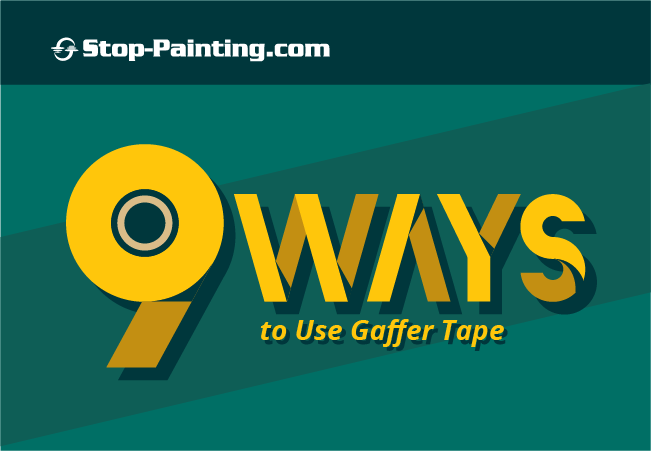 Top 9 Ways to Use Gaffer Tape