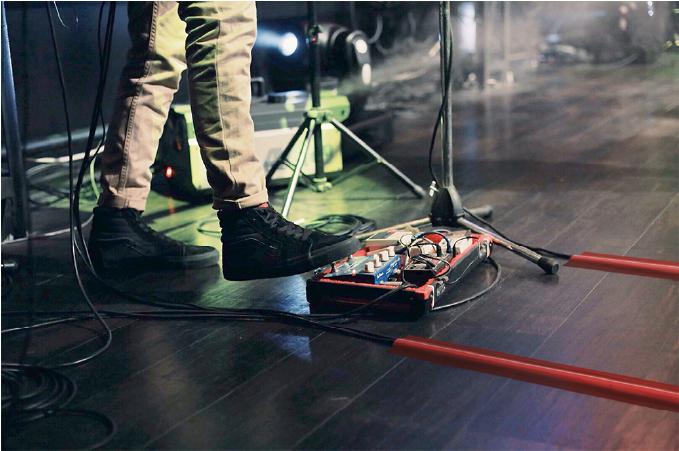 Gaffer tape for musicians