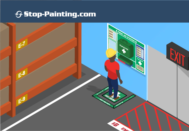 Industrial Floor Markings to Improve Health and Safety