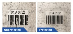 Warehouse Barcode Labels Last Longer When A Protective Label Cover is Added