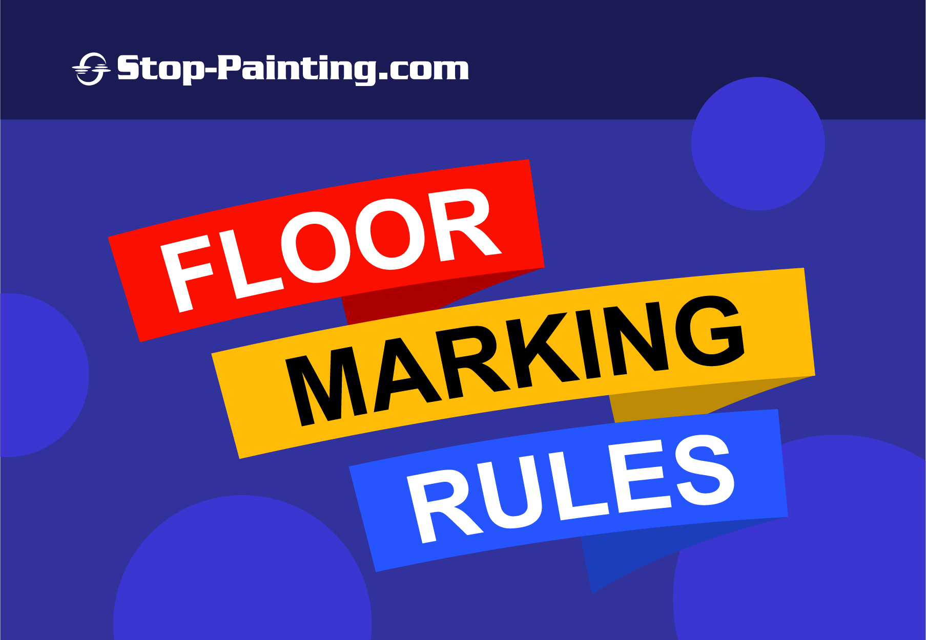 5 Important Rules for Floor Marking Tape