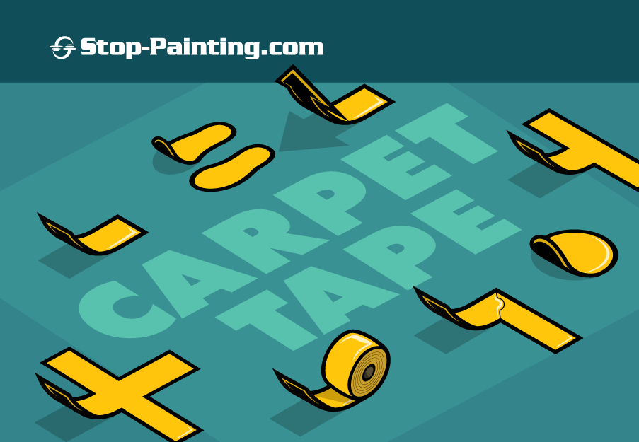 Carpet Tape for Indoor Directional Cues