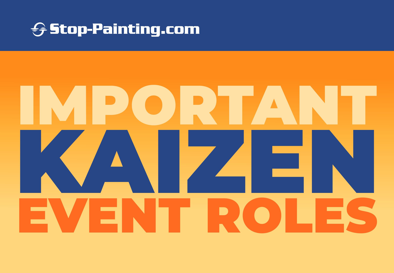 Important Kaizen Event Roles